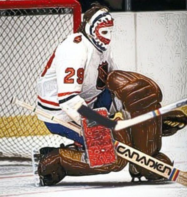 Montreal Canadians. Ken Dryden