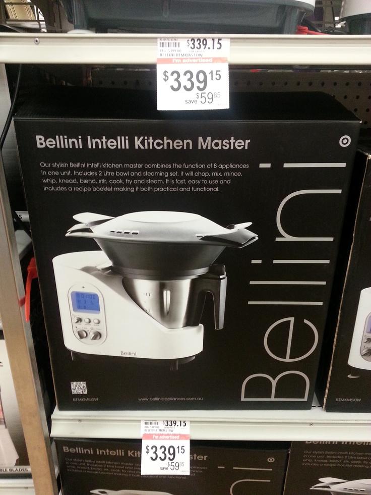 Frances, Target, Bellini Kitchen Master, $350.00