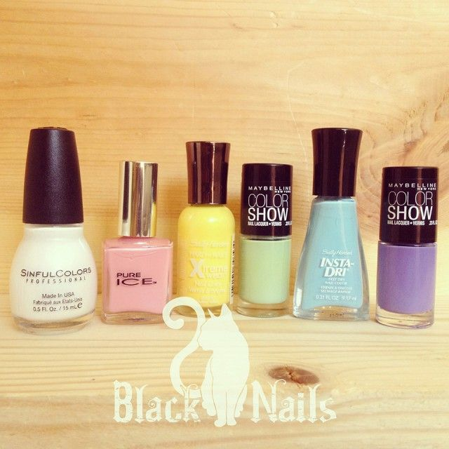 pastel nail polish haul