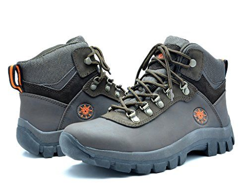 KINGSHOW Men's 1551 Water Resistance Rubber Sole Work Boots ** To view  further for this