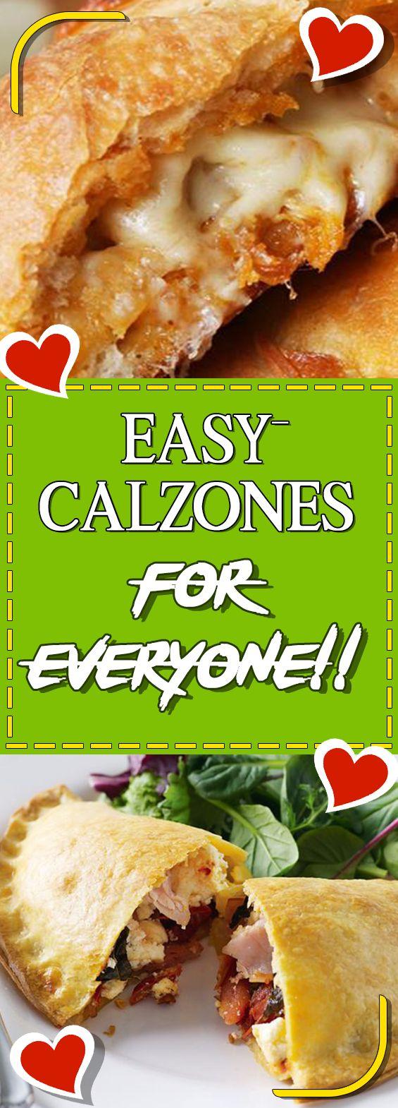 EASY CALZONES FOR EVERYONE!! Via #yummymommiesnet #vegetarian vegetarian #vegetarianrecipes vegetarian recipes #recipeoftheday recipe of the day #recipe recipe #vegan vegan recipes #veganfood vegan food recipes