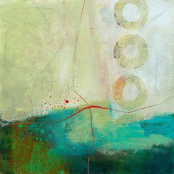 Green and Red 2 by Jane Davies