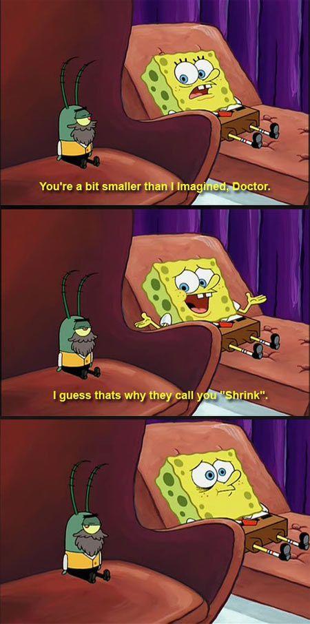 That Spongebob is so clever... - http://geekstumbles.com/funny/lolsnaps/that-spongebob-is-so-clever/