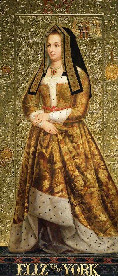 Richard Burchett,   Elizabeth of York, Queen to Henry VII