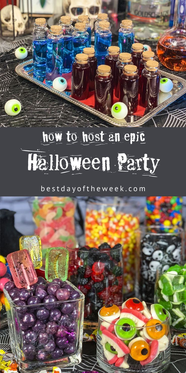 How to Host an Epic Halloween Party. #halloweenpar…