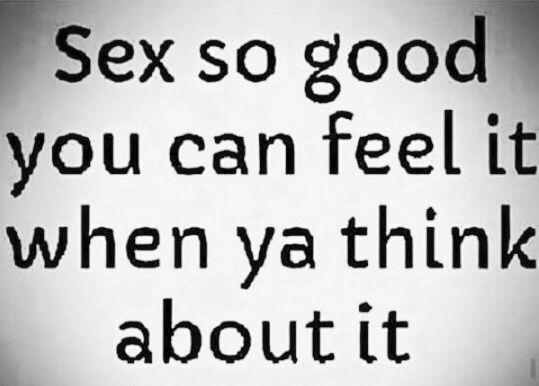 how come sex feels good