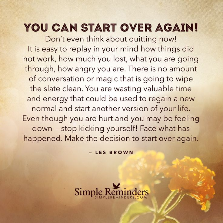 """""""Les Brown: You can start over again! Don't even think about quitting now! It is..."""" by Les Brown"""