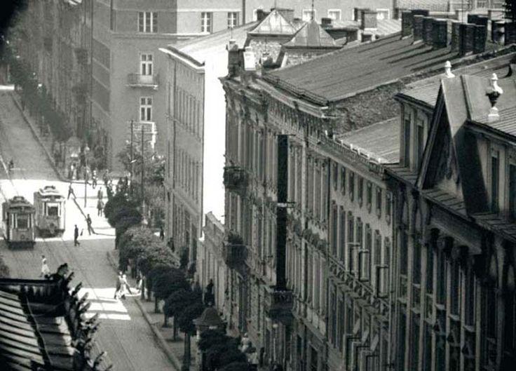 """Ulica Starowiślna, Krzysztof Żyra, """"Przedwojenny Kraków. Najpiękniejsze fotografie"""""""