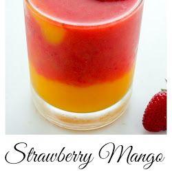 Erdbeer Mango Smoothie Rezept ohne Joghurt – My Easy Recipe Blog   – Recipes