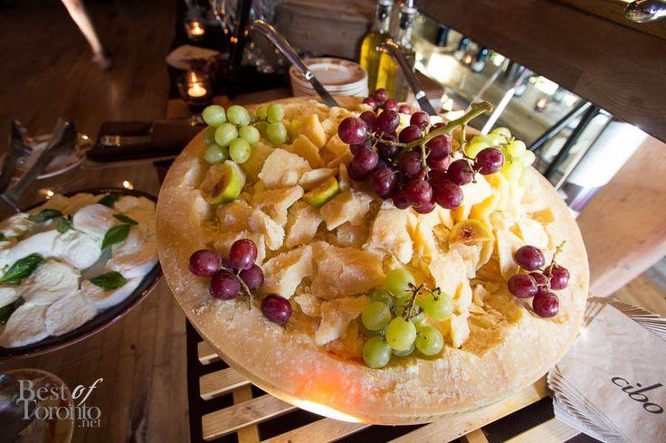 Grapes and cheese anyone? At the Toronto FC and AS Roma at Cibo Wine Bar