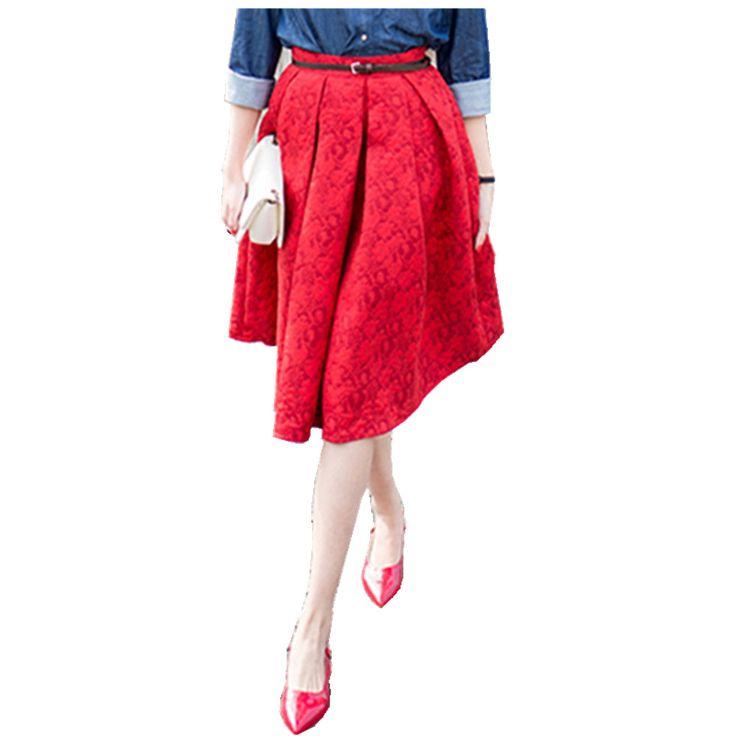 New Faldas Summer Style Vintage Skirt High Waist Work Wear Midi Skirts Womens Fashion American Apparel Jupe Femme Saias
