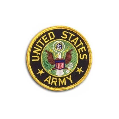 "Army Patch by US Flag Store. $1.99. Approx 3"". United States Army Patch. Low Cost Shipping Available!. Dimensions: Approx. 3"""
