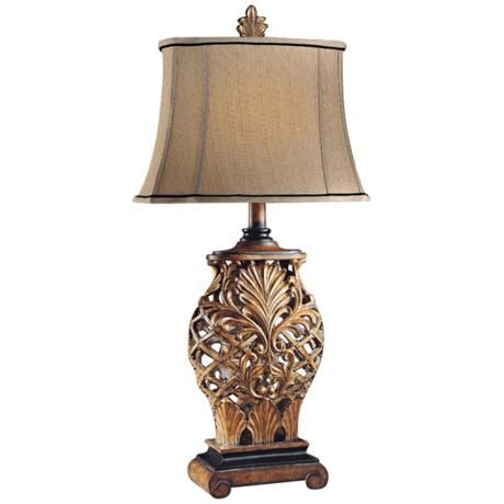Buy the ambience weathered lattice direct shop for the ambience weathered lattice 1 light table lamp from the jessica mcclintock home collection and save