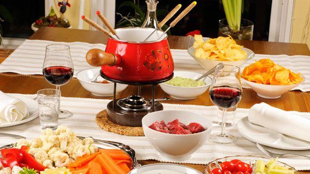 Fondue-Beilagen für Fleisch- und Käsefondue: Tipps