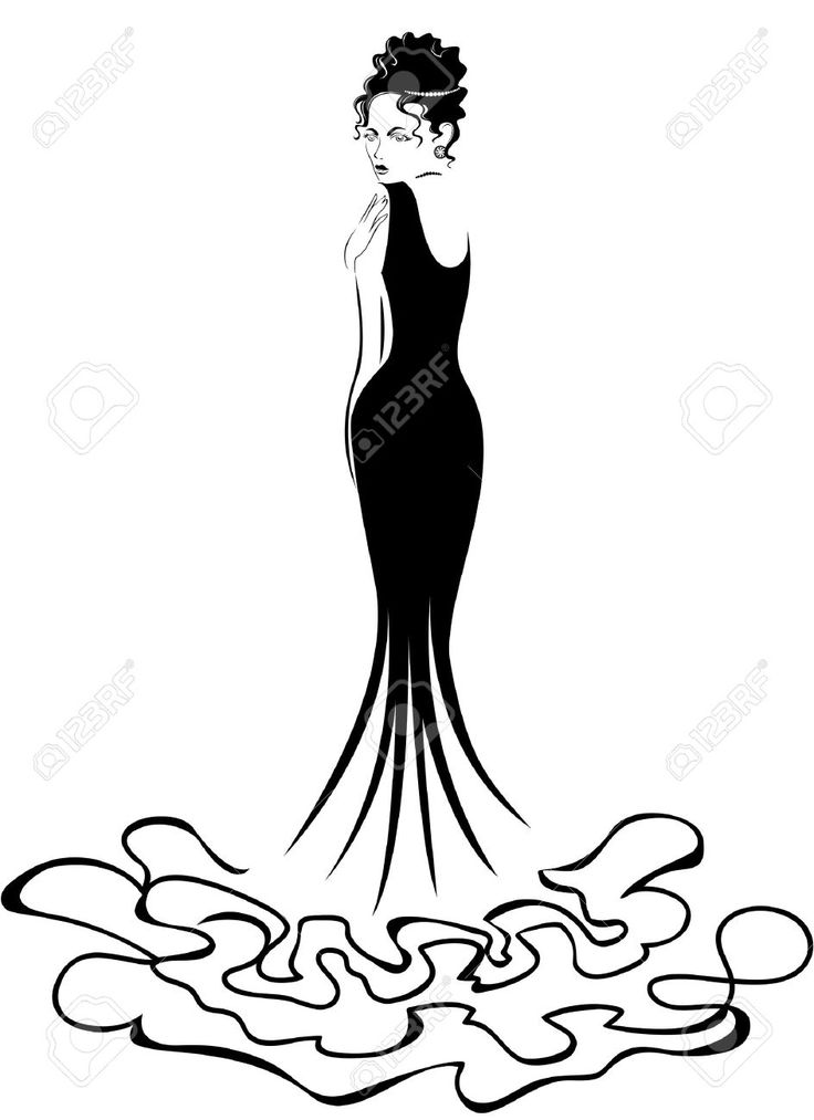 Line Drawing Lady : Best ladies images on pinterest