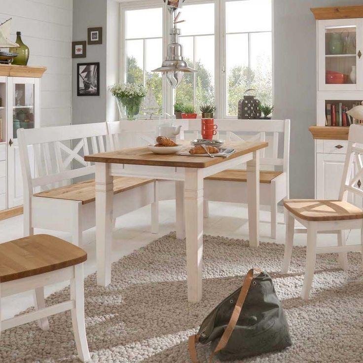 Die besten 25+ Holztisch weiß Ideen auf Pinterest Weißer - Esszimmer Modern Weiss
