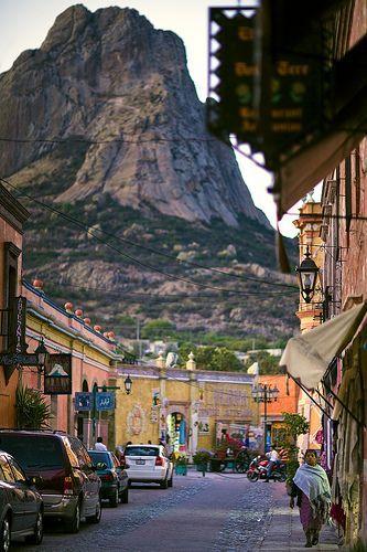 """Bernal, Querétaro de Arteaga, México. - Have been there and climbed """"La Peña de Bernal"""" and of course, I ate """"gorditas"""" :)))"""