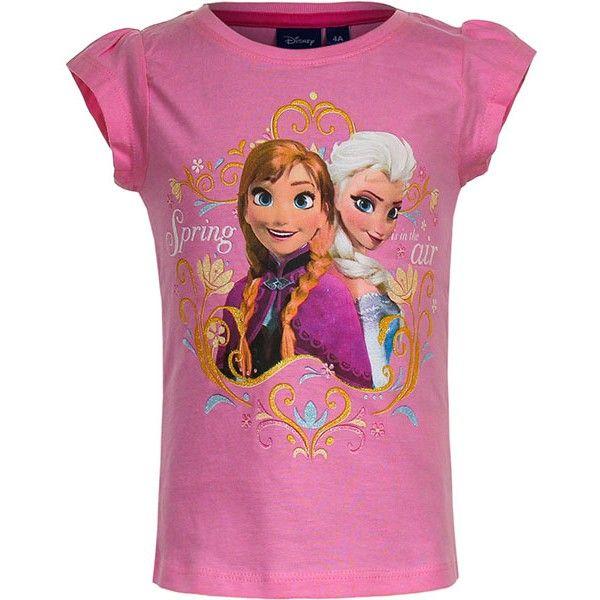 Frost t-shirt med Anna og Elsa fra Disney filmen Frost