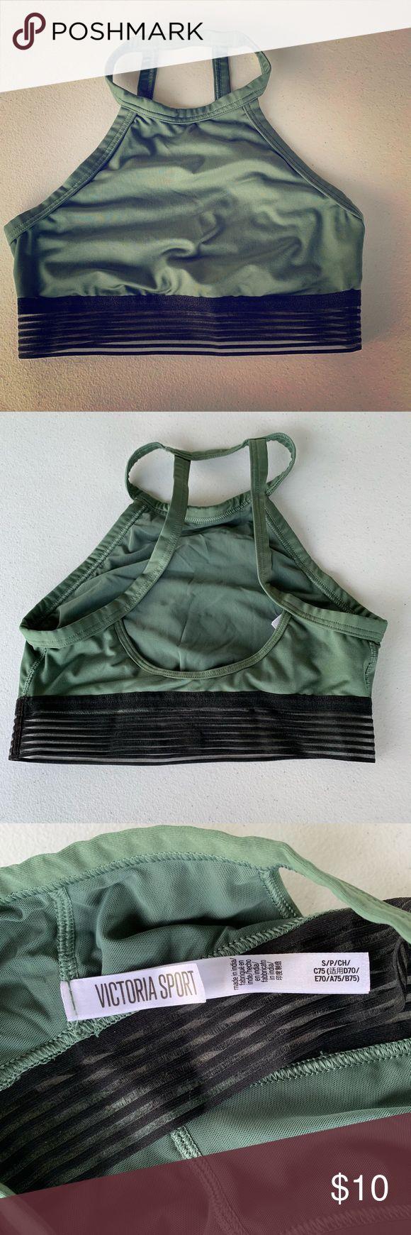 VICTORIA SPORT olive green sport bra Olive green sport bra Worn once Excellent c…