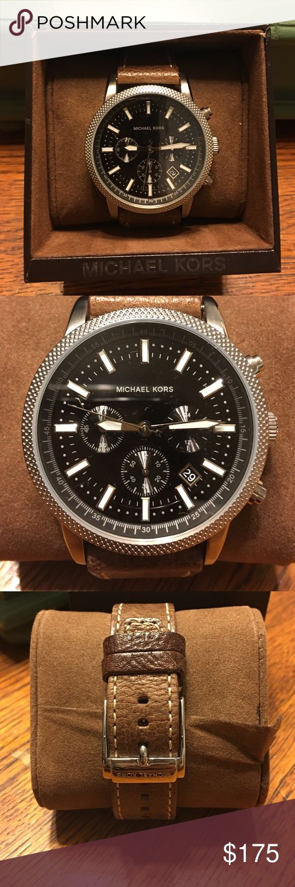Michael Kors Men's Watch Worn three times. Great condition. Comes with original box and booklet Michael Kors Accessories Watches