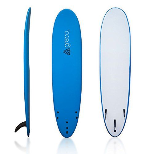 8' Performance Soft Top Foamboard Long Surfboard Foam Surfboard Longboard Funboard by Greco Surf, Blue - http://fitness-super-market.com/?product=8-performance-soft-top-foamboard-long-surfboard-foam-surfboard-longboard-funboard-by-greco-surf-blue