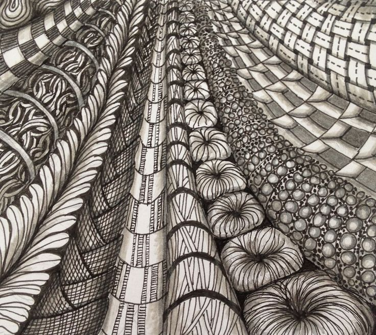 32 best ZenTangling and Patterns images on Pinterest | Zentangle ...