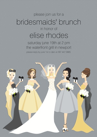 I've always wanted to have a shower brunch - really I'm just always looking for an excuse to drink mimosas!