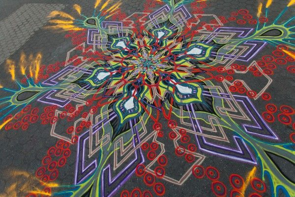 Sand Paintings | Joe Mangrum