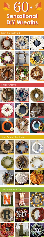60+ Sensational DIY Wreaths For the Fall
