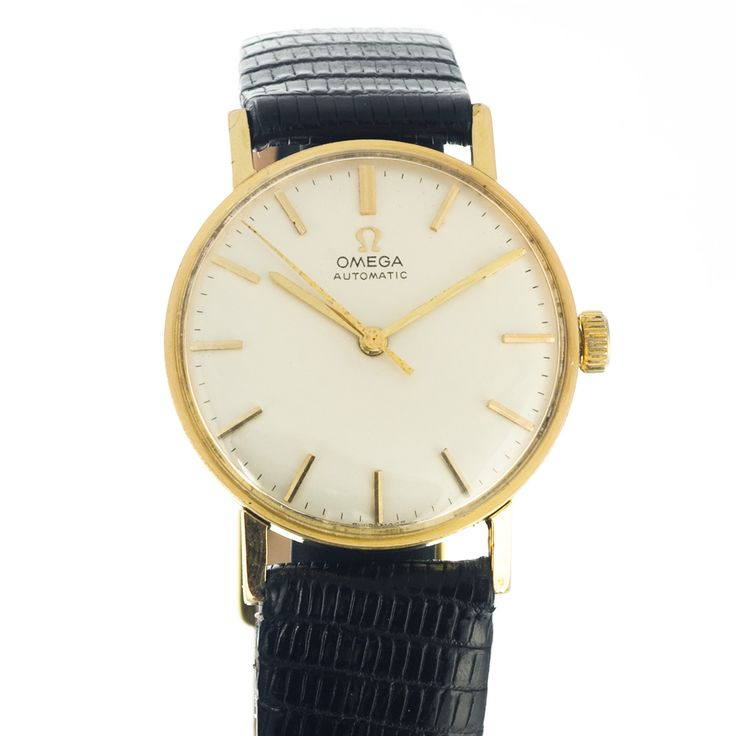 Omega vintage look watch in small - 34 mm - size