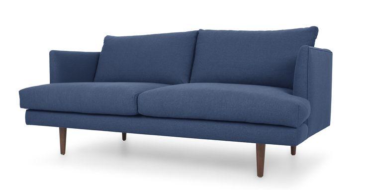 Carl Fog Blue Loveseat Blue loveseat Scandinavian furniture and
