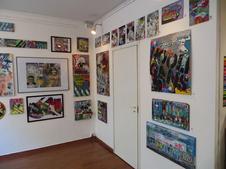 Art by Charles Liquor at Geezers the shop. Helsinki, Finland. #taidesuomi #paintings #taide