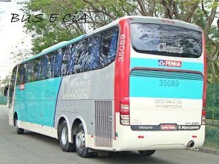 Bus & Cia: EMPRESA PENHA ONIBUS 35089 RODOVIARIA DE SÃO PAULO SP