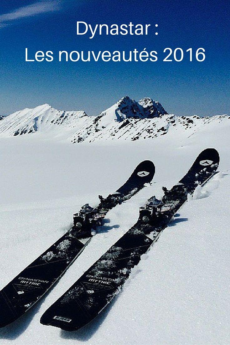 Dynastar : Les nouveautés 2016  #ski #dynastar #freeride #freeski #snow