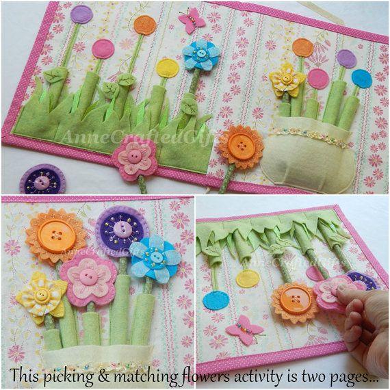 This listing is for a 4 page or 6 page quiet book and customized cover of your choice - designed just for little girls with my two daughters as my inspiration! The pages are quite large at 11 inches x 11 inches. The two-page designs are sewn together and covered on the back and edges with fabric. Hand embroidered, hand-beaded, and machine sewn. Uniquely designed by me, I take great care in crafting and creating functional, fun designs that also showcase a handcrafted, artistic style. You…