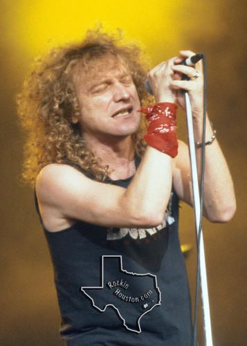 Lou Gramm, Jul 13, 1990, The Woodlands Pavilion