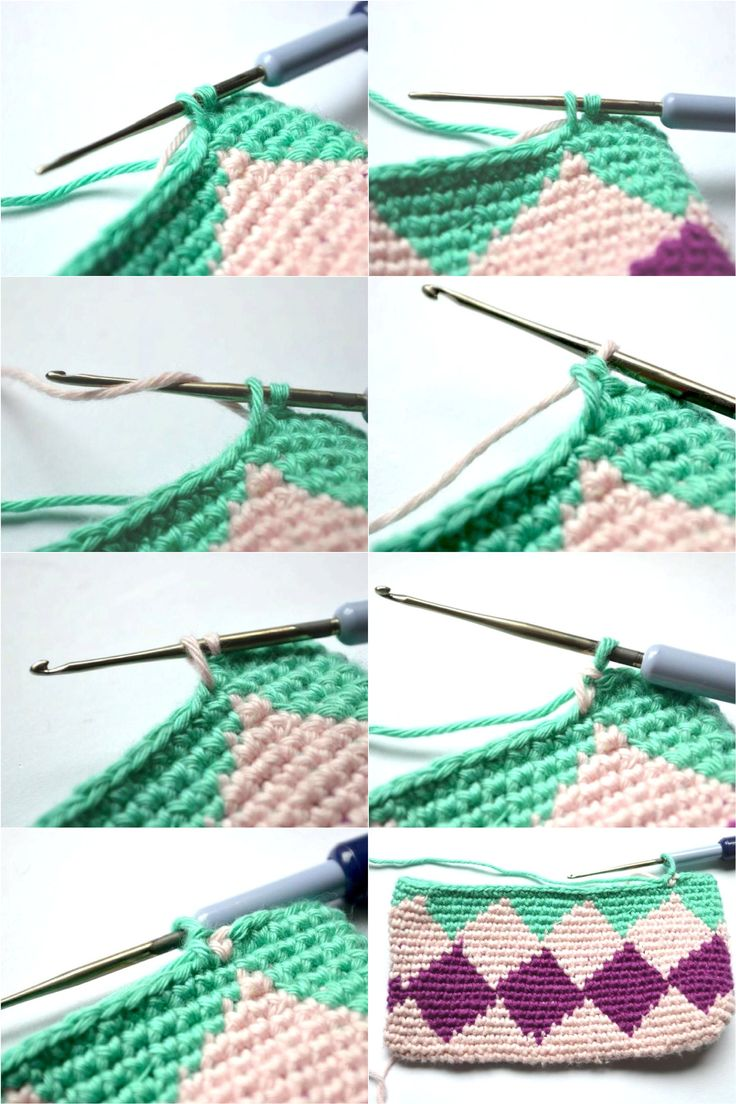 Tapestry crochet Tutorial