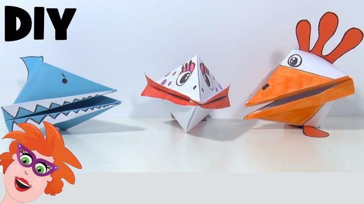 DIY - zelf happertjes maken. vouwen van papier