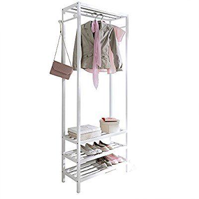Ber ideen zu kleiderst nder holz auf pinterest for Garderobe 200 cm
