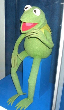 Kermit the Frog is puppeteer Jim Henson's most famous Muppet creation, first introduced in 1955. He is the protagonist of many Muppet projects, most notably as the host of The Muppet Show, and has appeared in various sketches on Sesame Street, in commercials and in public service announcements over the years