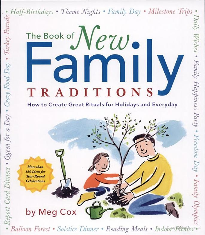 School's out ideas, etc: Worth Reading, Idea, Schools, Ritual, Meg Cox, Books Worth, Families Traditional, Holidays, New Families