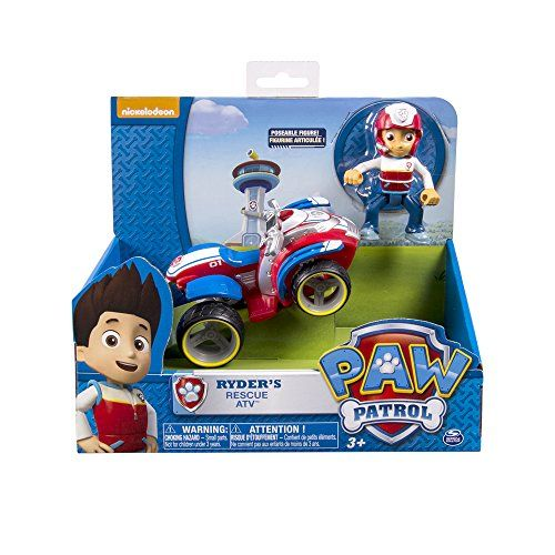 No job is too big no pup too small! Those are the words that Ryder tells them all. Ryder is the heroic leader rescuer and teacher of the Paw Patrol. Hop on his Rescue ATV and get ready for the adven...