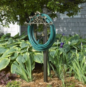 Vine & Trellis Hose Station - traditional - outdoor products - Ballard Designs