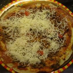 Crêpes garnies façon pizza calzone @ http://qc.allrecipes.ca