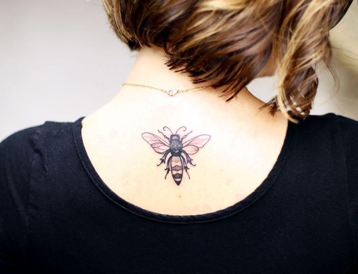 Image result for vintage honey bee illustration tattoo