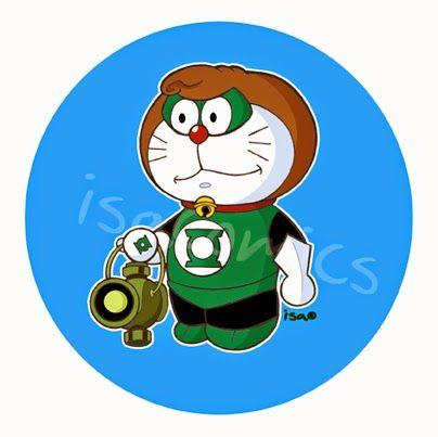 ISACOMICS: Doraemon + Lanterna Verde = DoraeLan!!!