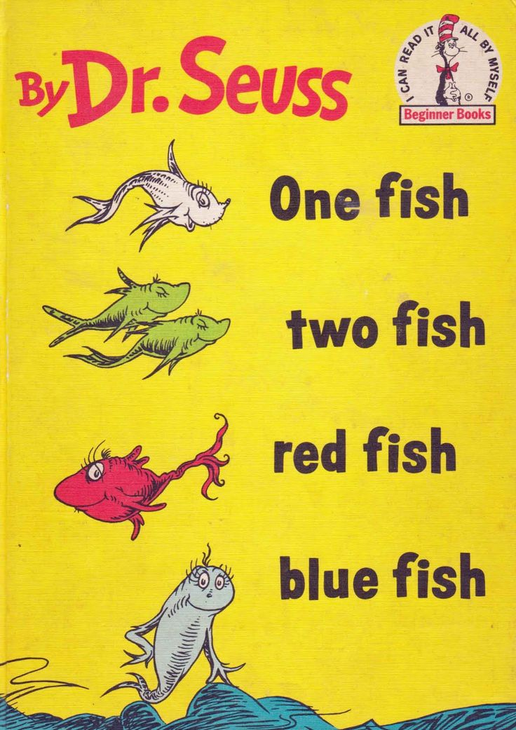 79 best miniature dr seuss books images on pinterest for Book with fish on cover