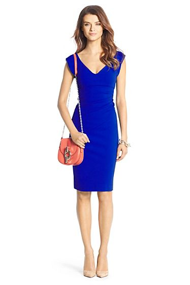 Dvf Dresses Dilly Ceramic Tunic Dress Bevin Ceramic Ruched Sheath