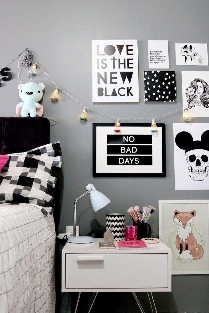 ✔62 süße Mädchen Wohnung Deko Ideen 59