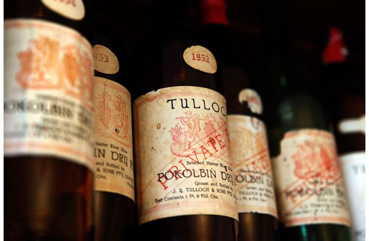 Tulloch - Wine Country History